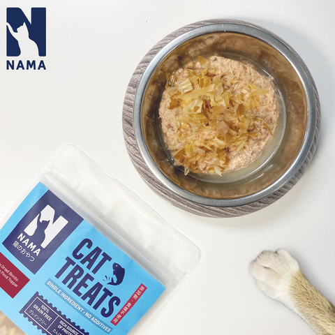 Dried Tuna Flakes Treats for Cats (Thick Cuts)