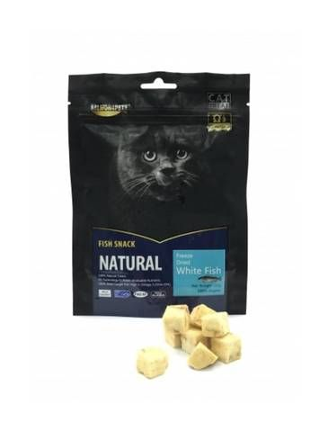 Freeze Dried Whitefish for Cat Treat
