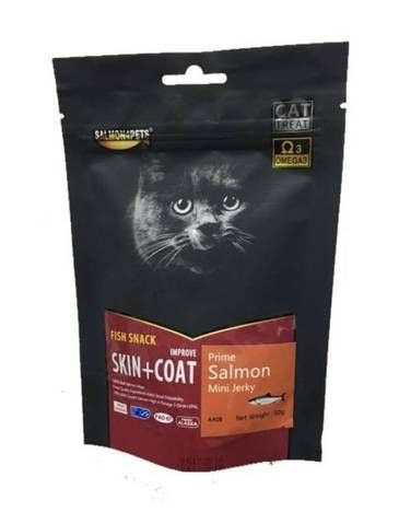 Prime Salmon Mini Jerky Cat Treat