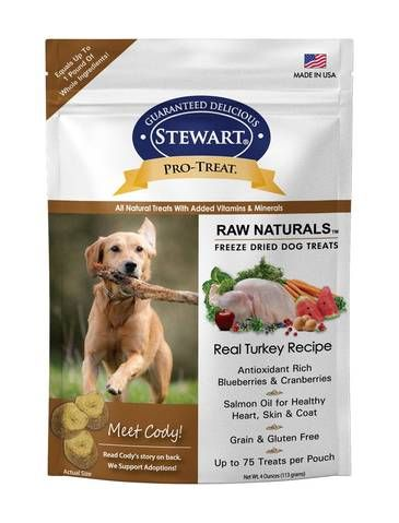 Pro-Treat Freeze Dried Turkey w Berries and Flaxseed Dog Treats 4oz
