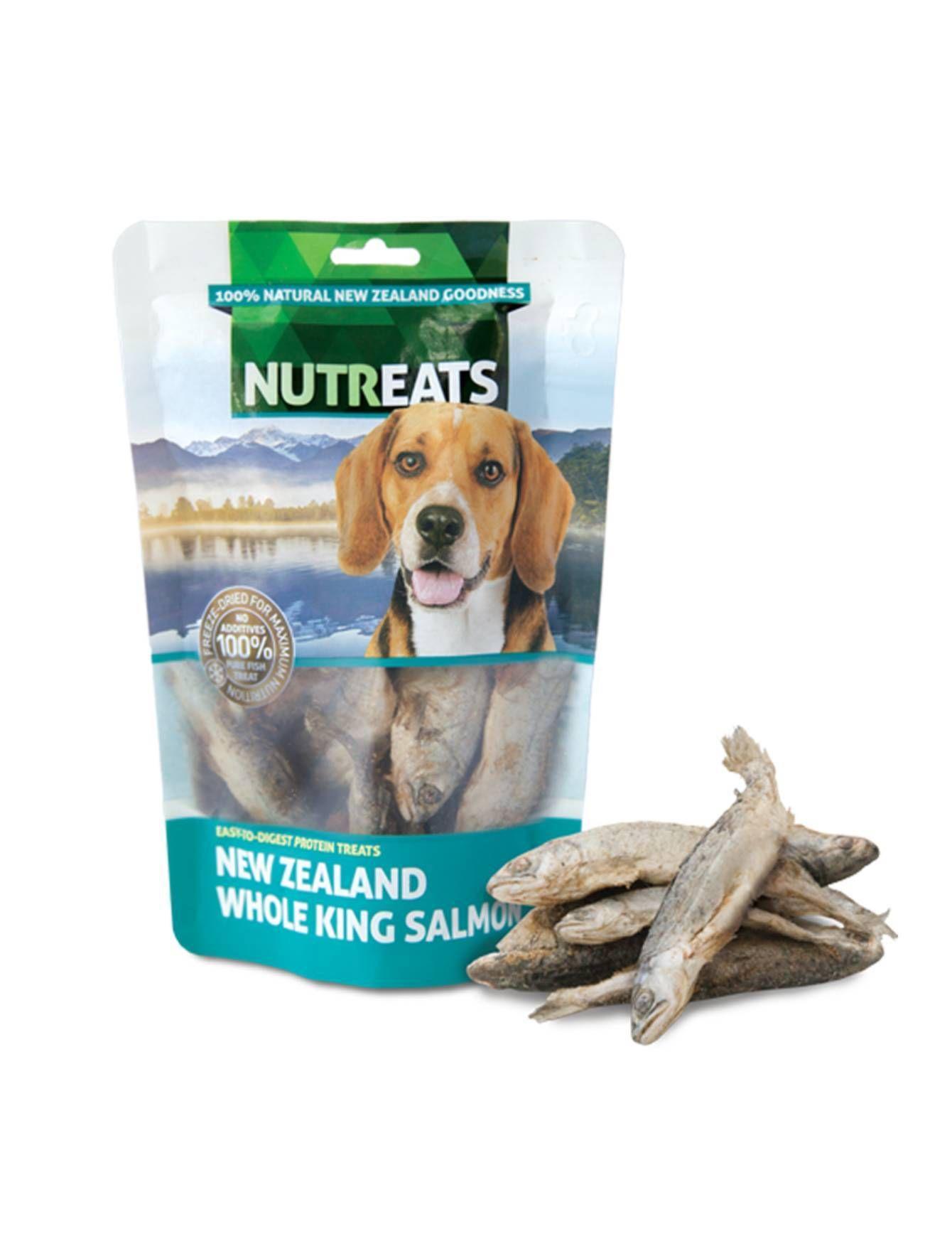 Whole King Salmon Dog Treats 50g