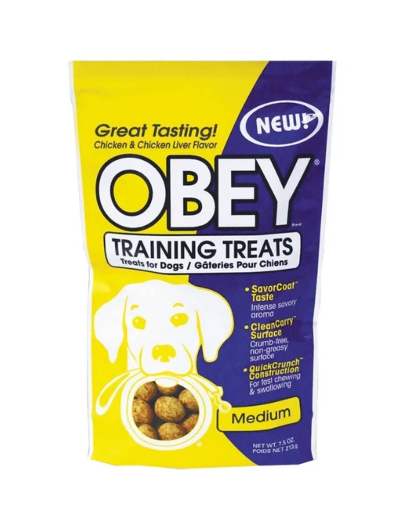Pro-Treat Freeze Dried Obey Training Treats Medium Dog Treats 7.5oz