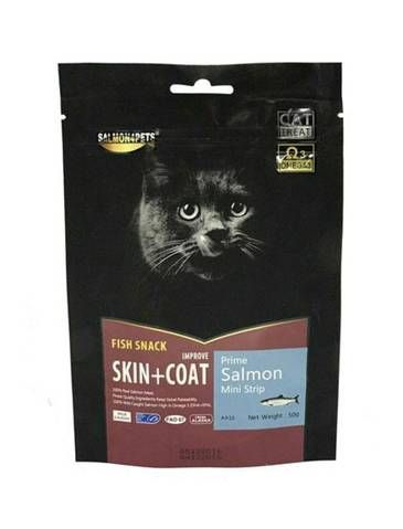 Prime Salmon Soft Bit Cat Treat
