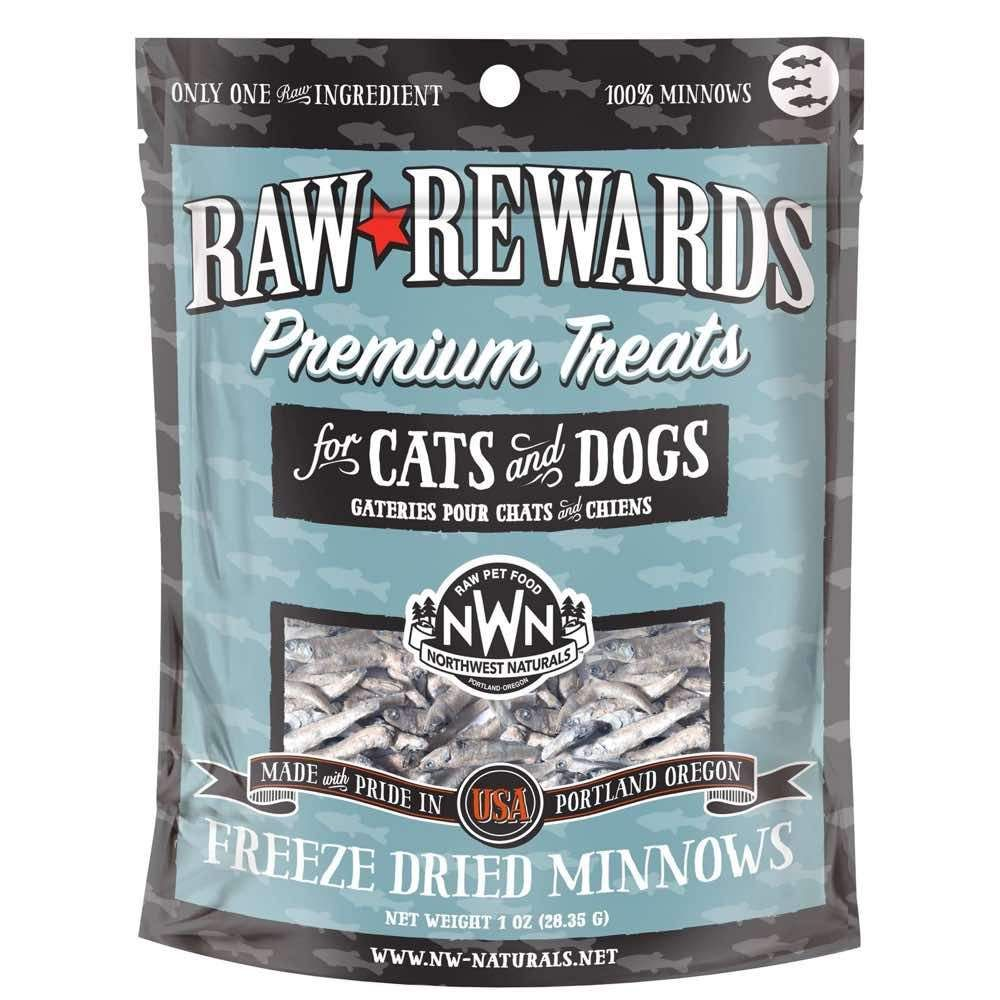 Raw Rewards Minnows Treats (1oz)