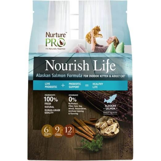 Nurture Pro Nourish Life Alaskan Salmon Formula for Indoor Cat
