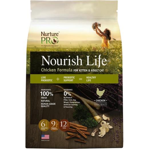 Nurture Pro Nourish Life Chicken Formula for Kittens & Adults