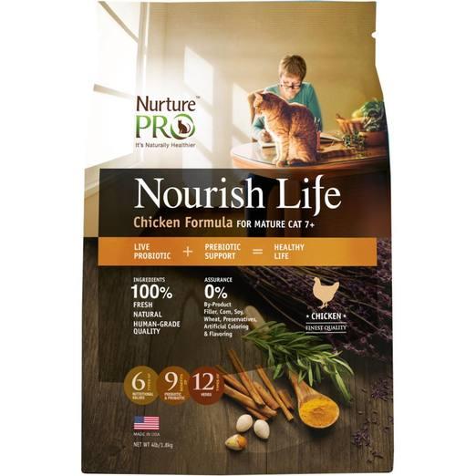 Nurture Pro Nourish Life Chicken Formula for Mature Cat 7+