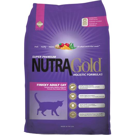 NutraGold Holistic Finicky Cat Dry Food