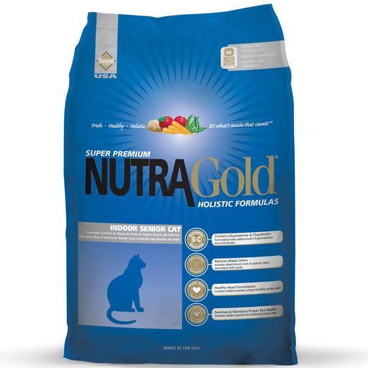 NutraGold Holistic Indoor Senior Dry Cat Food