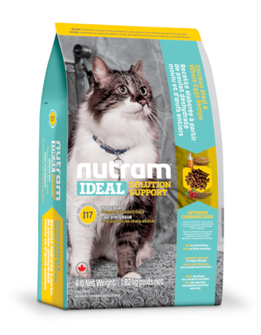 Nutram Ideal Solution Support Indoor Dry Cat Food