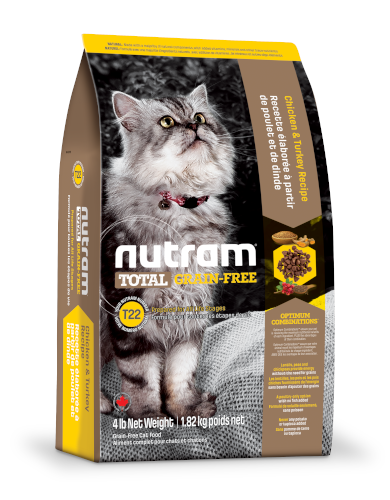 Nutram Total Grain-Free Chicken & Turkey Dry Cat Food