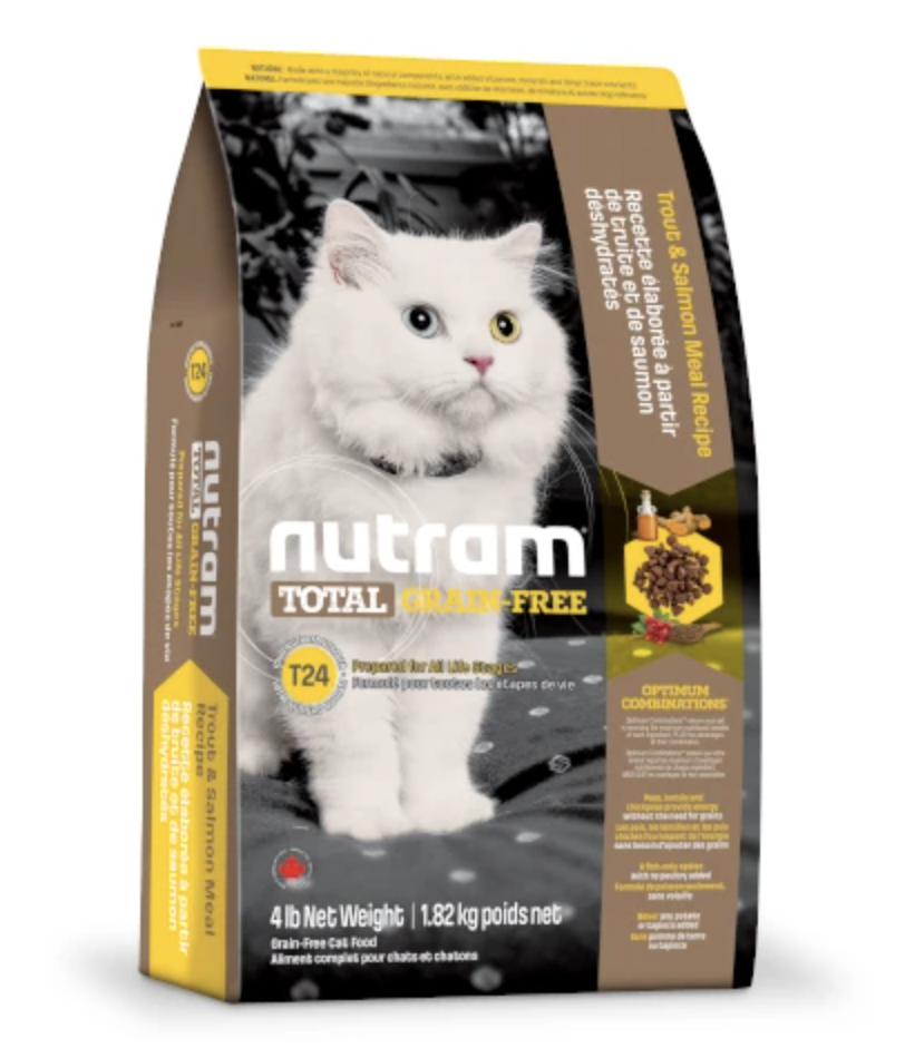 Nutram Total Grain-Free Trout & Salmon Meal Dry Cat Food