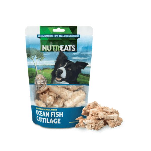 Ocean Fish Cartilage Dog Treats 50g