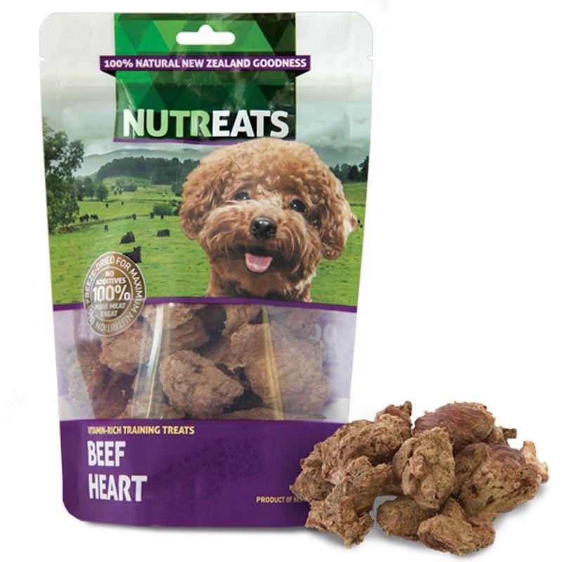 Beef Hearts Dog Treats 50g