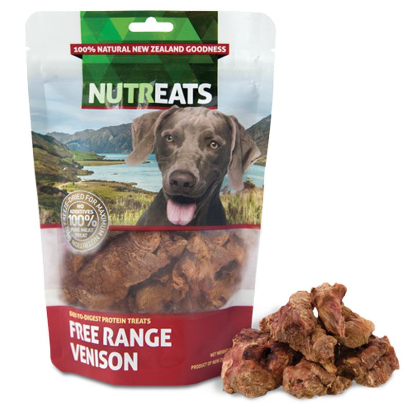 Free Range Venison Dog Treats 50g