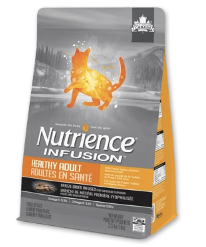 Nutrience Infusion Healthy Adult Dry Cat Food