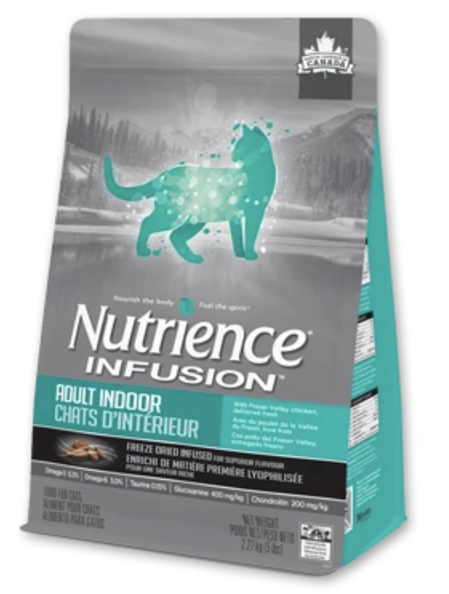 Nutrience Infusion Healthy Adult Indoor Dry Cat Food