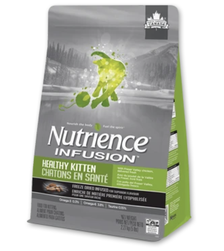 Nutrience Infusion Healthy Kitten Dry Cat Food