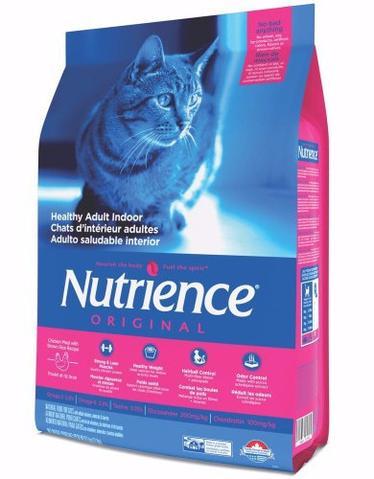 Nutrience Original Chicken Meal & Brown Rice Healthy Adult Indoor Dry Cat Food