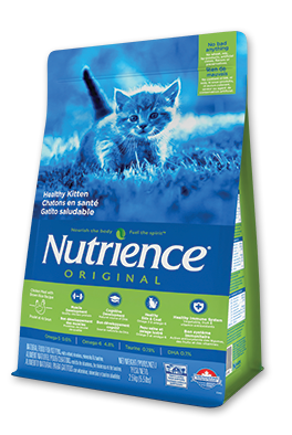 Nutrience Original Healthy Kitten Chicken Meal with Brown Rice Recipe Dry Cat Food