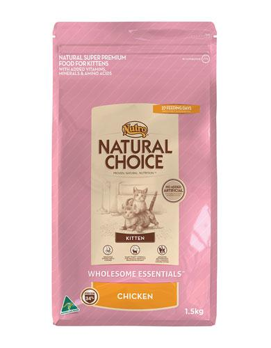Nutro Natural Choice Chicken Kitten Dry Food