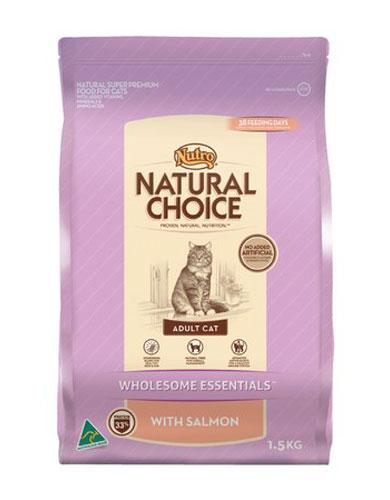 Nutro Natural Choice Salmon Cat Dry Food
