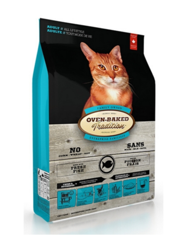 Oven Baked Tradition Fish Dry Cat Food