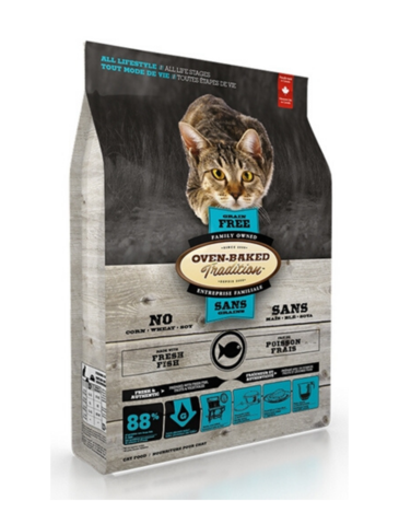 Oven Baked Tradition Grain Free Fish Dry Cat Food