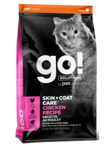 Petcurean Go! Skin+Coat Care Chicken Recipe Dry Cat Food
