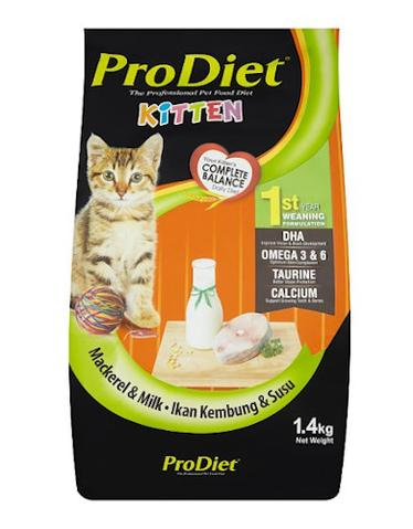 ProDiet Milky Mackerel Dry Food for Kittens