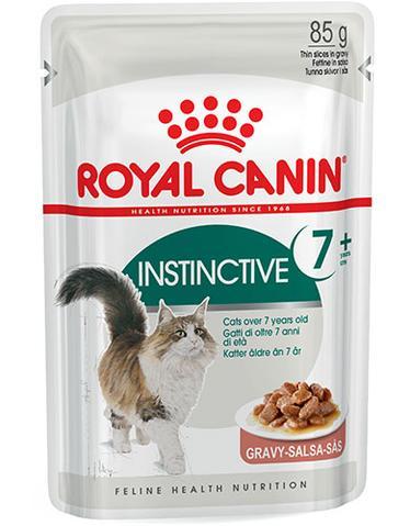 Feline Health Nutrition Instinctive 7 + Wet Food for Cats 85g