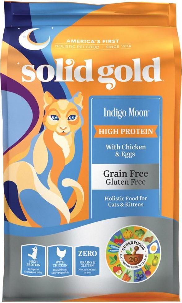 Solid Gold Grain Free Chicken & Egg Dry Cat Food