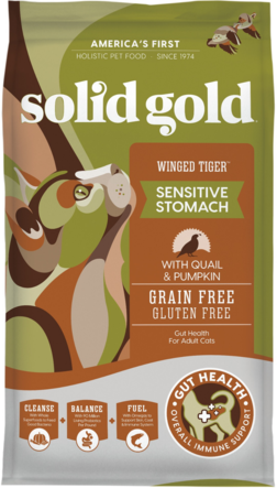 Solid Gold Winged Tiger With Quail & Pumpkin Dry Cat Food