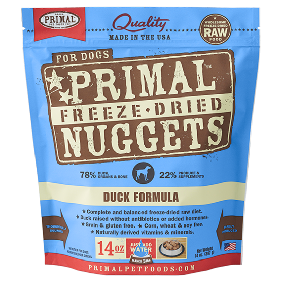 Freeze-Dried Canine Duck Nuggets