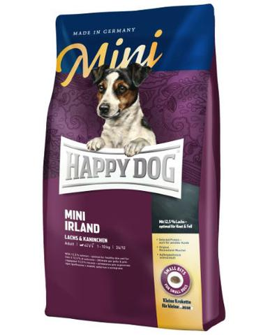 Happy Dog Supreme Mini Ireland Salmon and Rabbit Dry Dog Food