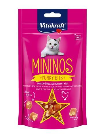 Mininos Chicken & Cheese Punky Bits Cat Treats