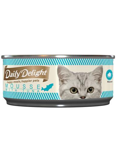 Mousse with Tuna Canned Cat Food