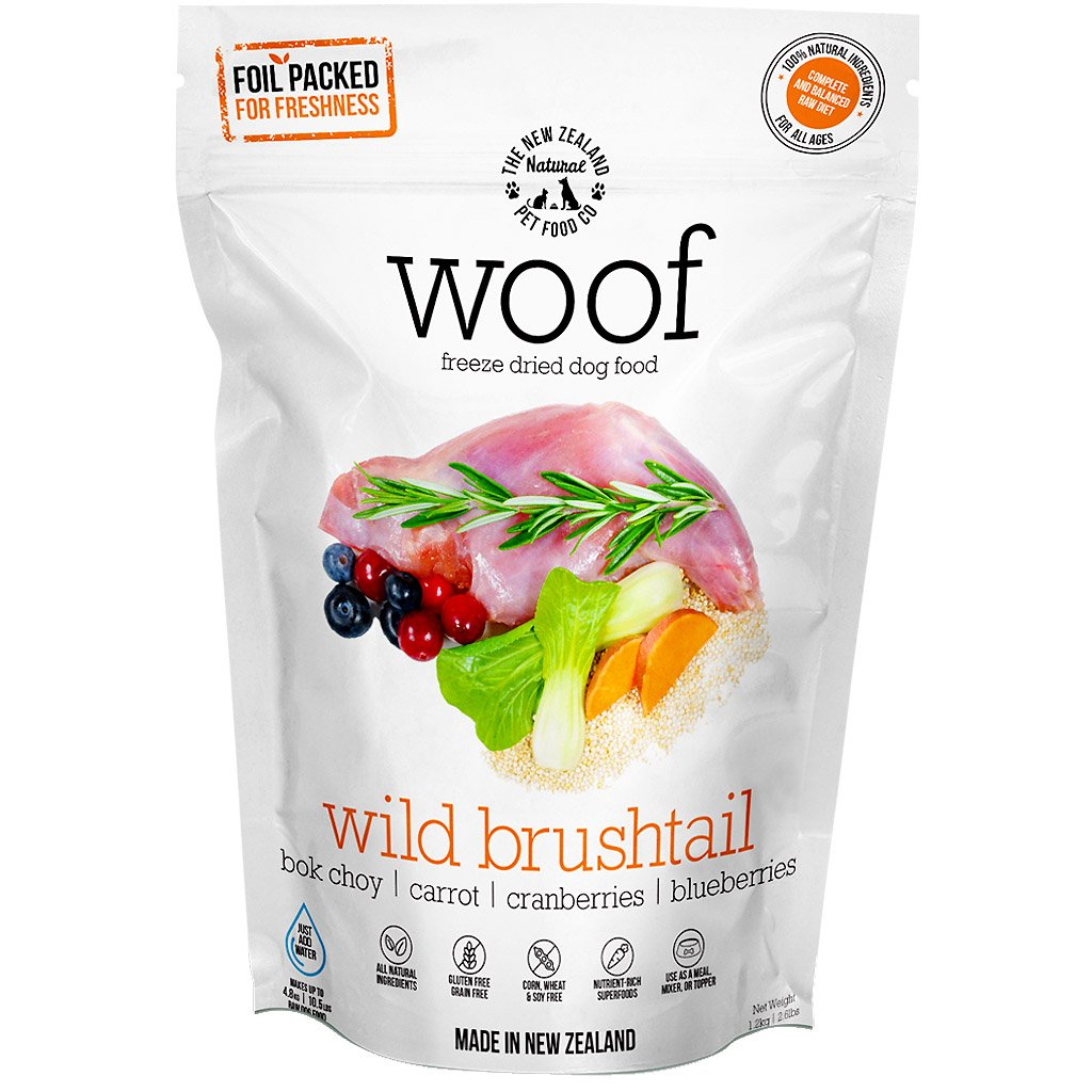 Freeze Dried Raw Wild Brushtail Dog Dry Food