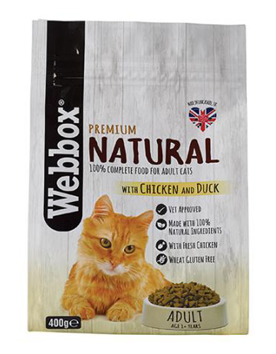 Webbox Chicken & Duck Adult Cat Dry Food