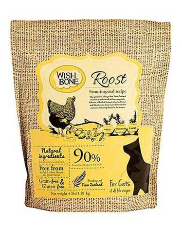 Wishbone Roost Chicken Grain Free Dry Cat Food