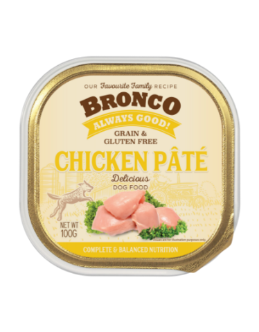 Bronco chicken pate