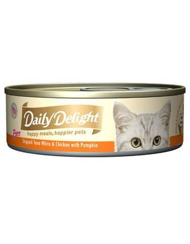 Pure Skipjack Tuna White & Chicken with Pumpkin Canned Cat Food