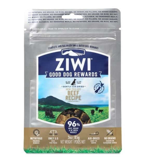 Good Dog Rewards Beef Treat Pouches (85g)