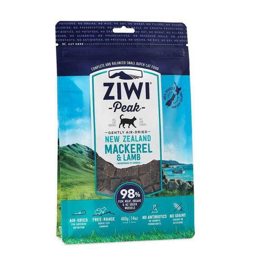 Ziwipeak Mackerel & Lamb Air Dried Cat Dry Food