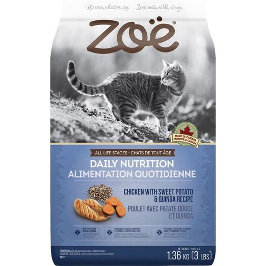 Zoe Daily Nutrition Chicken With Sweet Potato & Quinoa Cat Food