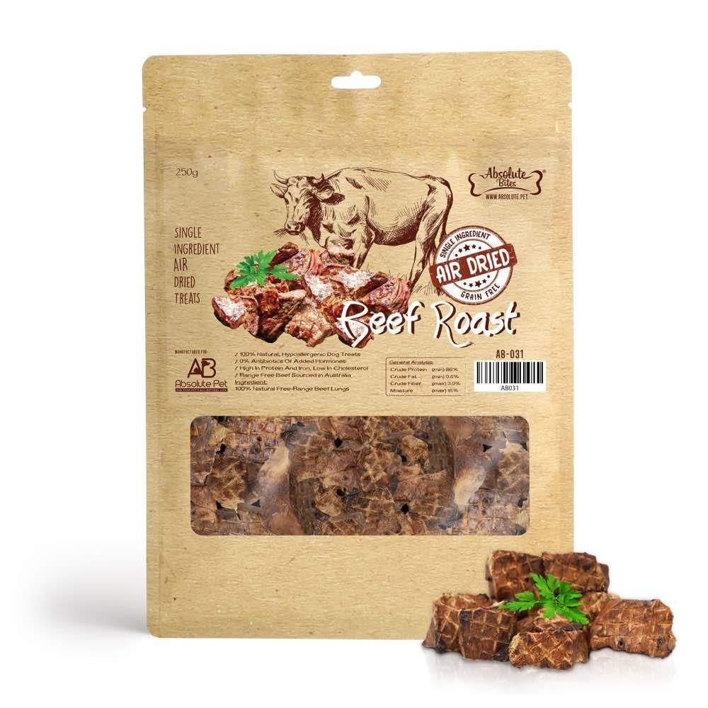 Air Dried Beef Roast Dog Treats