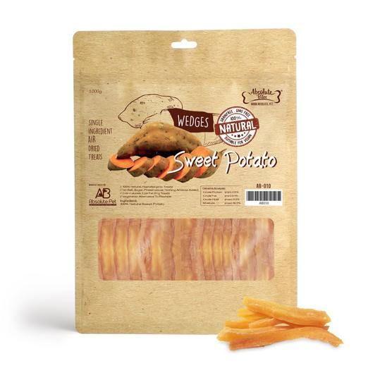 Air Dried Sweet Potato Wedges Dog Treats 1kg