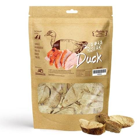 Freeze Dried Duck Pet Treats 70g