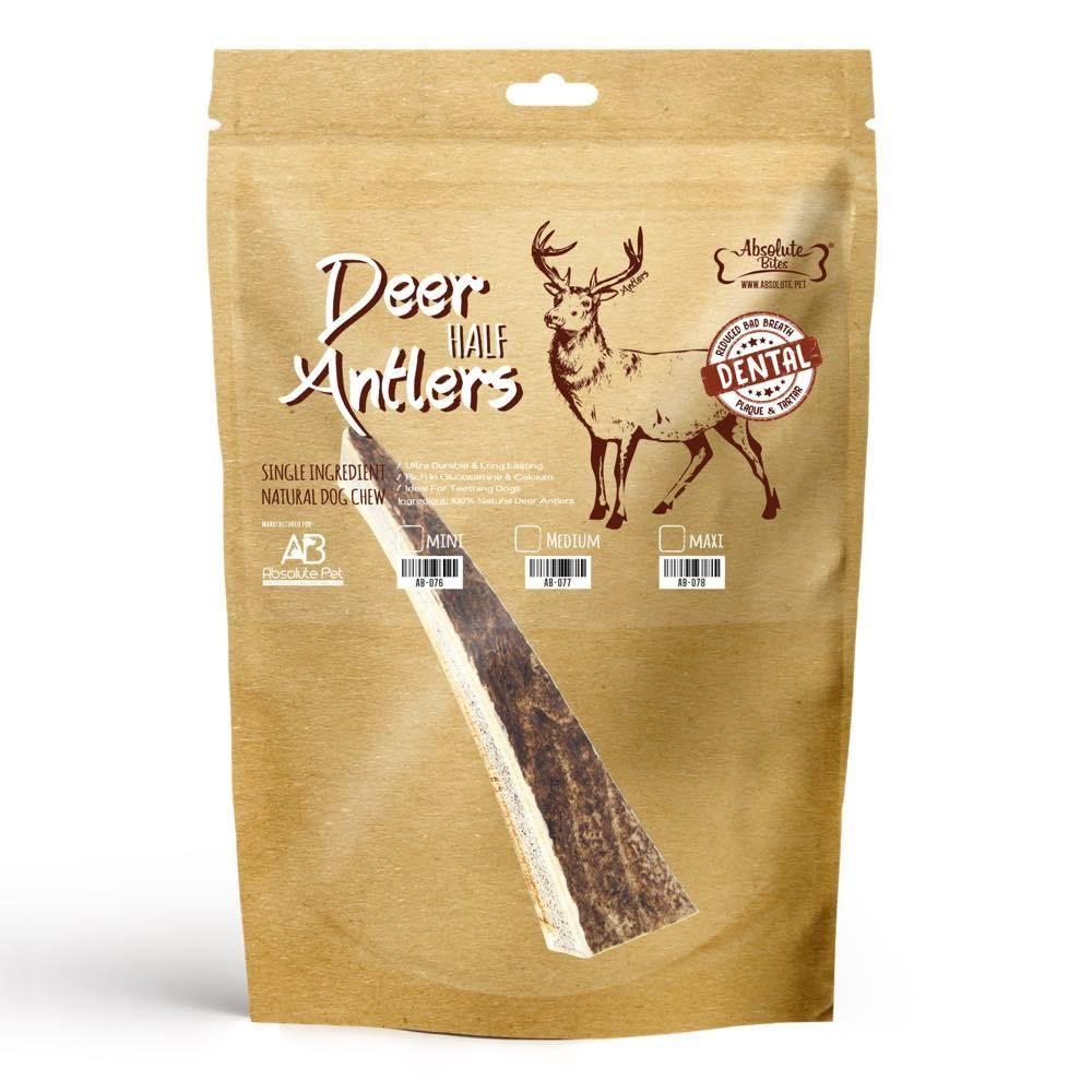 Half Deer Antlers Dental Chew
