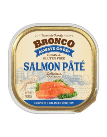 Bronco salmon pate